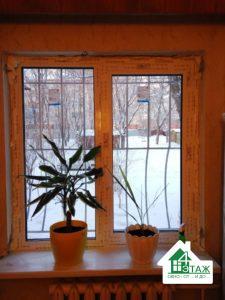 Двухстворчатые окна Киев ул. Гарматная 44