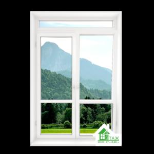 металлопластиковая балконная дверь