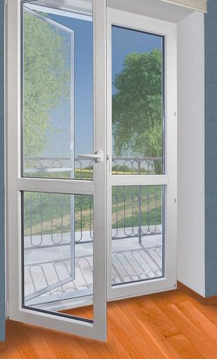 москитные сетки на двери ПВХ балконные