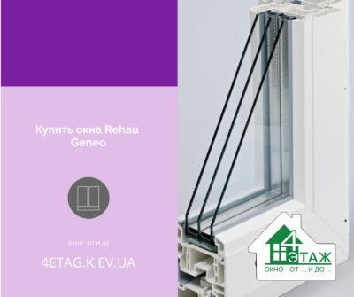 Купити вікна Rehau Geneo