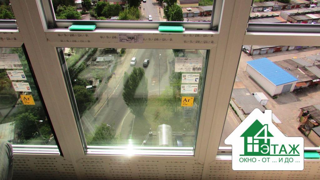Евромонтаж пластиковых окон на французском балконе - фото компании 4 Этаж