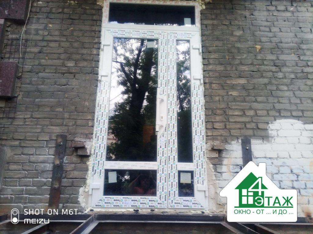 Входные металлопластиковые двери Киев от ™4 Этаж (бригада 7)