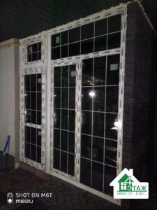 Пластикові вікна з шпросами фото бригади 9