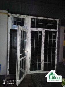Пластиковые окна со шпросами фото работы бригады 9
