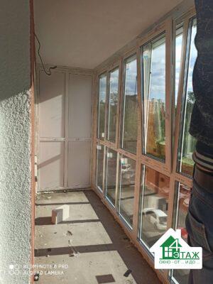Французский балкон Киев ул. Максимовича 9 фото 16 бригады