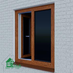 Нестандартные пластиковые окна ЛАМИНИРОВАННЫЕ от ТМ 4 Этаж