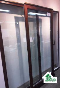 Раздвижные пластиковые окна, образец в профиле Виндом