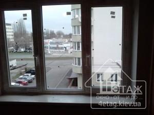 """Трехстворчатые окна Рехау с установкой - компания """"4 этаж"""""""
