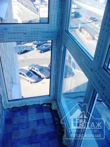 Французское остекление балкона - компания