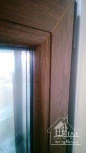 Образец ламинированного окна - компания 4 этаж