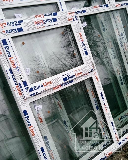 """Металопластикові вікна EuroLine - компанія """"4 етаж"""""""