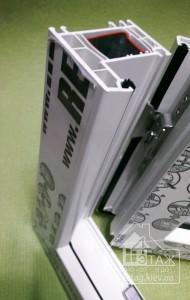 """Цены на окна пластиковые Rehau Ecosol 70 - компания """"4 этаж"""""""