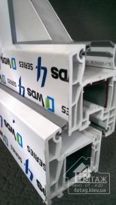 """Цены на металлопластиковые окна WDS 404 в компании """"4 этаж"""""""