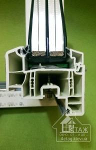 Окна REHAU GENEO - 6-ти камерный ПВХ профиль, 3 контура уплотнения