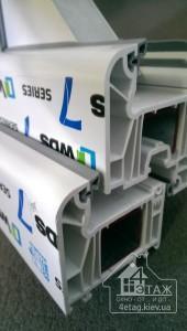 Металлопластиковые окна WDS 505 (WDS 7 series)