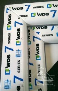 Металлопластиковые окна WDS 505 (WDS 7 series) - компания 4 этаж