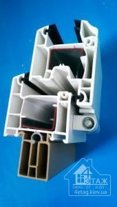 Купить недорогие пластиковые окна - технические характеристики WDS Millenium