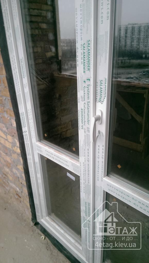 """Окна Salamander от компании """"4 Этаж"""""""