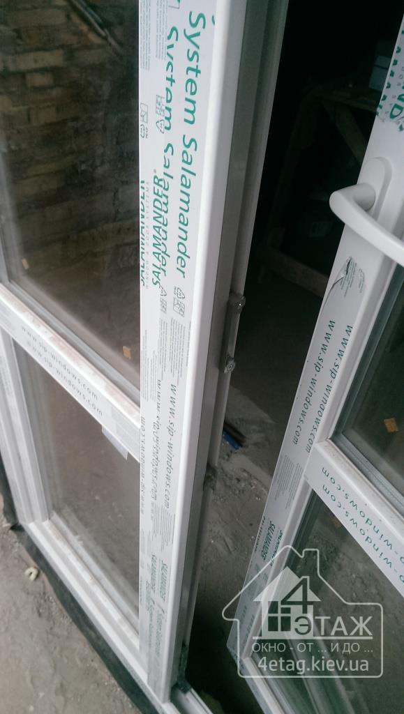 Балконная дверь Salamander с установкой - оконная фирма