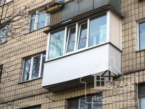 Остекление балкона Бортничи - оконная компания