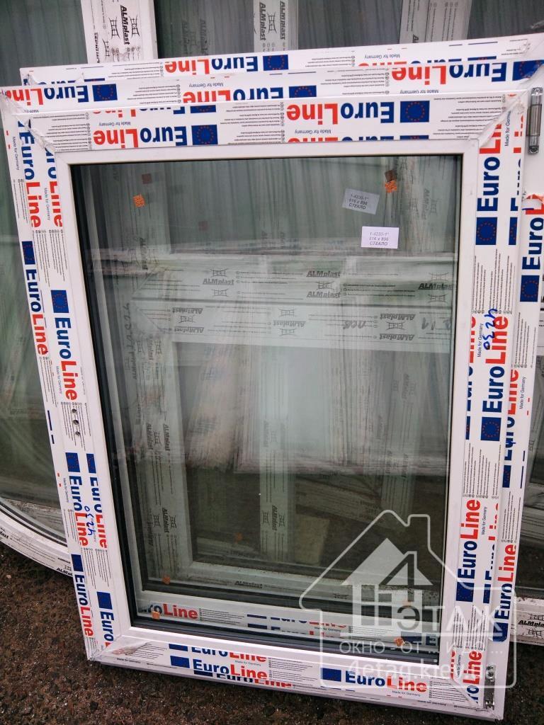 """Купить окна дешево, профиль EuroLine. Фирма """"4 этаж Окно От и До"""""""