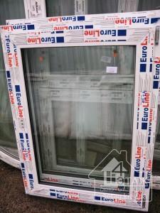 Дешевые окна в Киеве, одностворчатое окно Евролайн в фирме