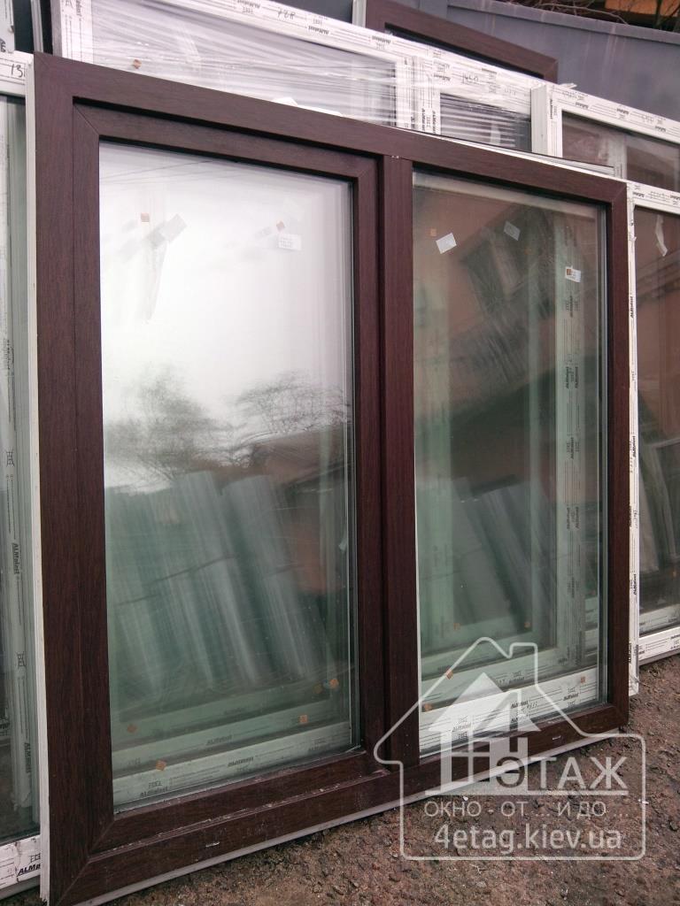 """""""4 этаж"""" Ламинированный окна"""