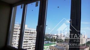 Застеклить лоджию в профиле Rehau 60 в Киеве