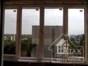 """Остекление лоджий в Rehau 60 - компания """"4 этаж"""""""