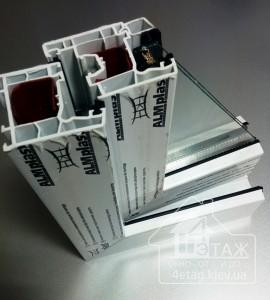 Металлопластиковые окна ALMplast от компании