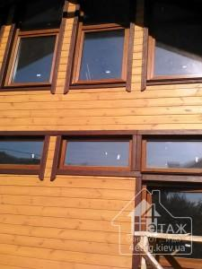 Ламинированные окна ПВХ Киев - от компании 4 этаж