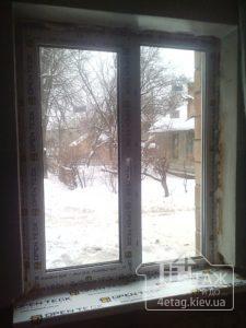 Недорогие пластиковые окна Openteck, монтаж по адресу пр.Науки 44