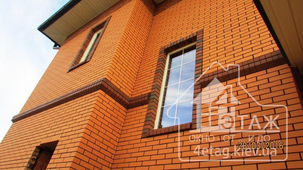 Недорогое остекление коттеджей в Киеве - компания оконная