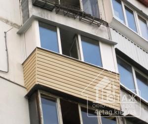 Остекление балконов в Киеве недорого - компания 4 этаж
