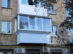 """Пластиковые окна Бортничи на балкон - компания """"4 этаж"""""""