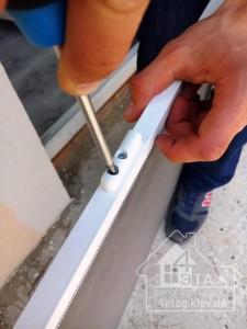 Москитные сетки на пластиковые двери - компания 4 этаж