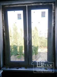 Двухстворчатые окна Rehau Киев с установкой - компания