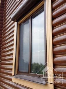 Актуальные цены на ламинированные окна Киев компания 4 Этаж