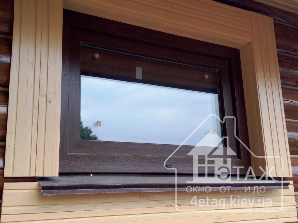"""""""4 этаж"""" Ламинированные окна"""