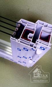 Окна Бровары - Профиль Decco 82 от компании
