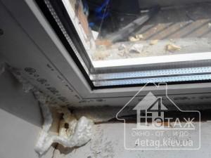 """Качественные металлопластиковые окна Rehau Киев цена в компании """"4 этаж"""""""