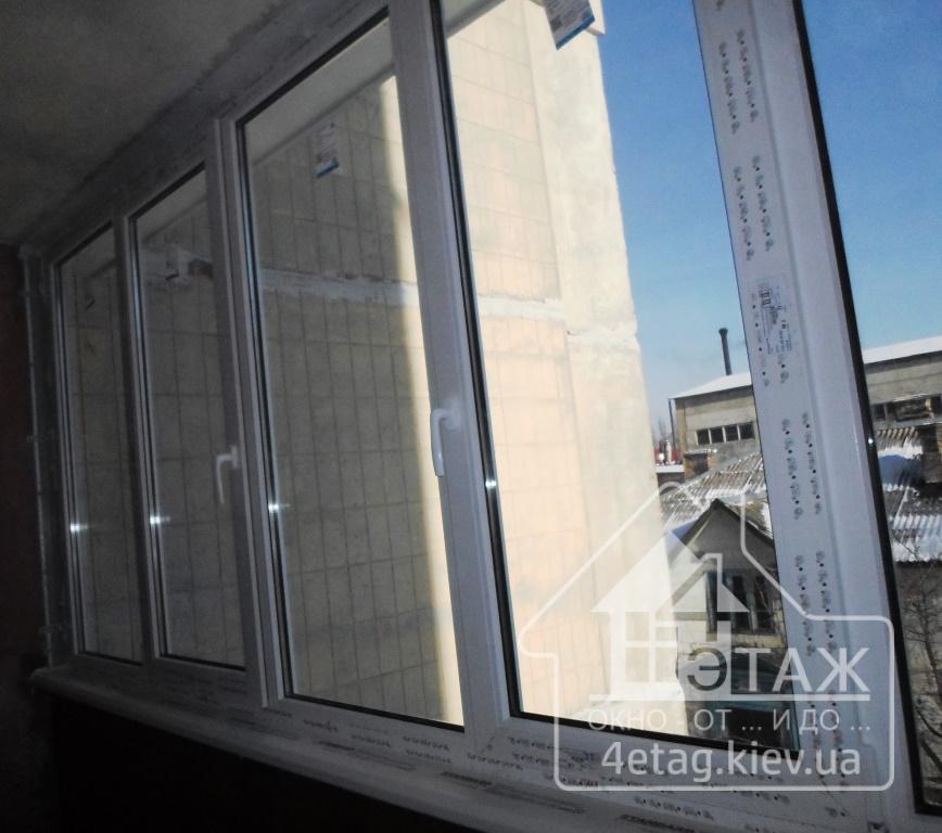 """""""4 этаж"""" Окна Rehau"""