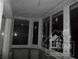 """Пластикові вікна WDS засклення балконів від компанії """"4 єтаж"""""""