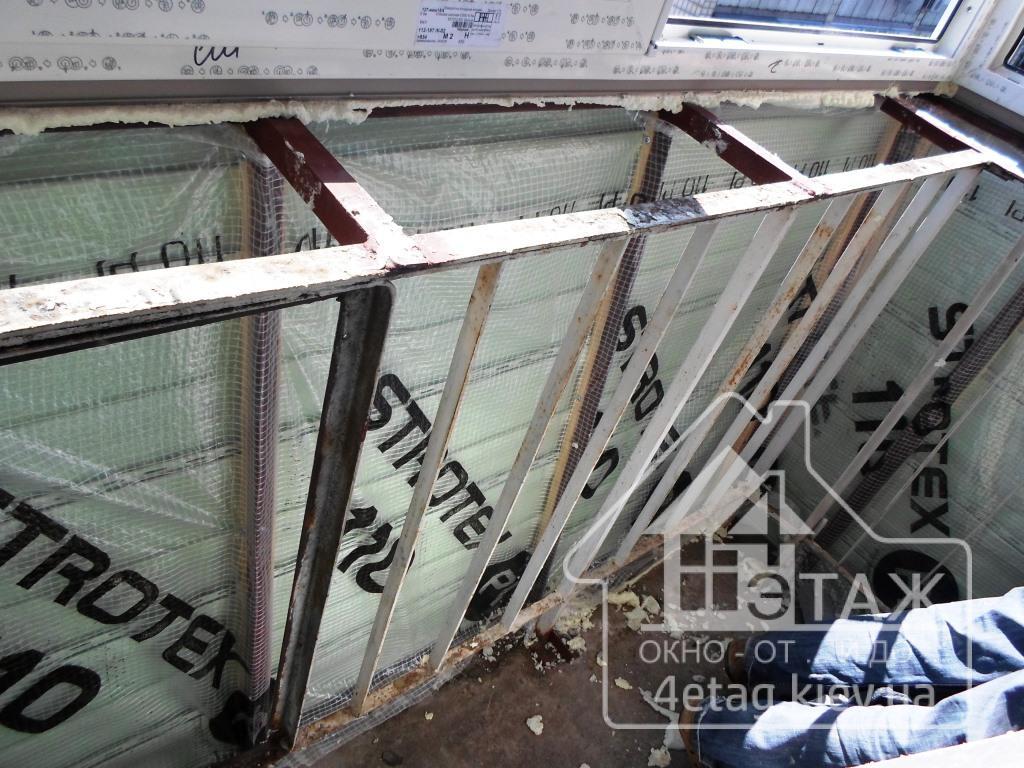 Остекление балкона с выносом в хрущевке документы.
