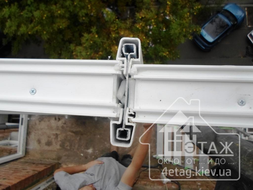 Французское остекление балконов киев.