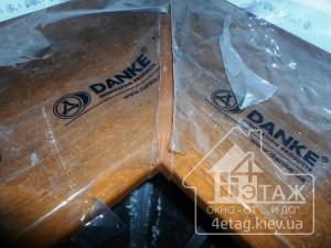 Широкий выбор оттенков пластиковых подоконников DANKE