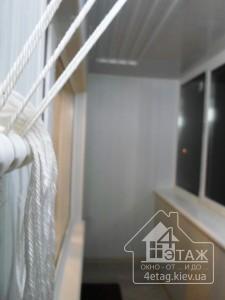 Остекление балкона под ключ в Ирпене - оконная компания