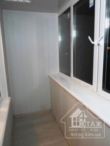 Остекление балкона под ключ Борисполь - компания