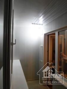 Остекление балкона под ключ в Борисполе - компания