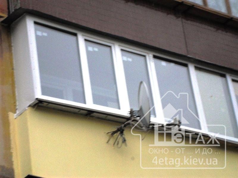 Остекление балкона калькулятор..